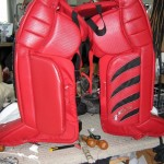 Before: Goal pad panels