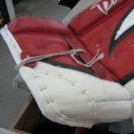 After: Cap for goal pad toes