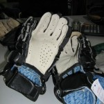 After: Lacrosse glove repalm