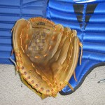 After: Ball glove gets TLC at Done Right Sports