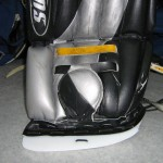 After: Goal pad alteration