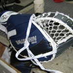 Before: Catcher with rigid pocket