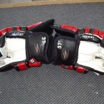 Dany Heatley gloves