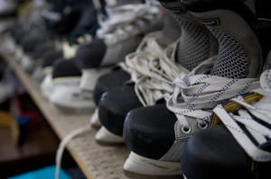 Hockey Skates Delaminated Sole